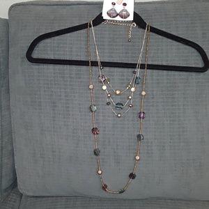 Chicos Jewelry 3 piece set.
